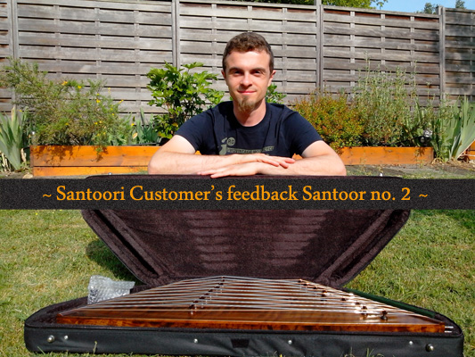 Santoori.com Customer feedback about Persian Santoor  no.2