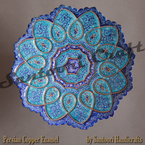 persian vitreous enamel minakari for sale