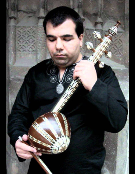 Parham Nassehpoor Kamancheh Online Lessons Instructor